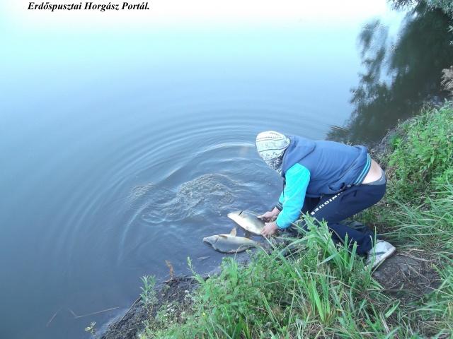 Dobi Laci az éjszakai hármashegyi horgászverseny győztese.