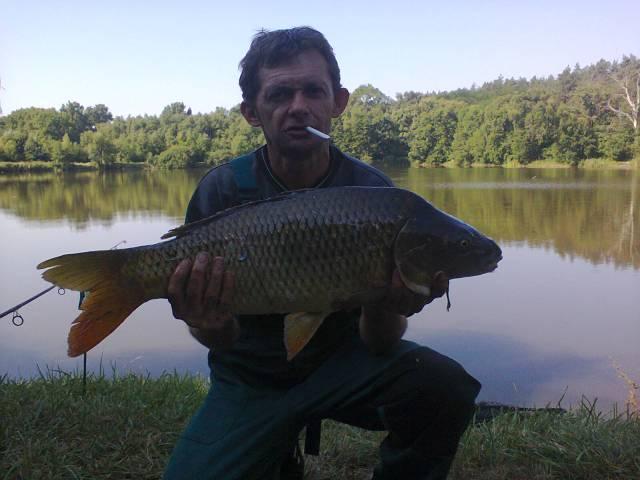 Dobi Laci fogása a Hármashegyen - 5,7 kg
