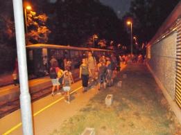 Három tele vagon utas érkezett a csillagtúrára.